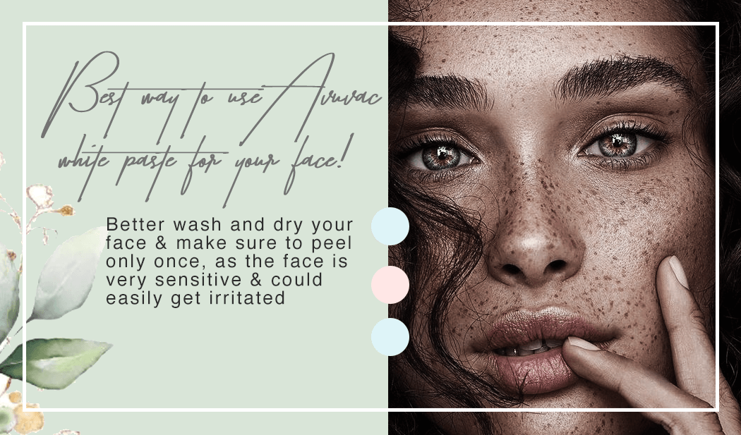 Best way to use Avuva White Paste for your Face!
