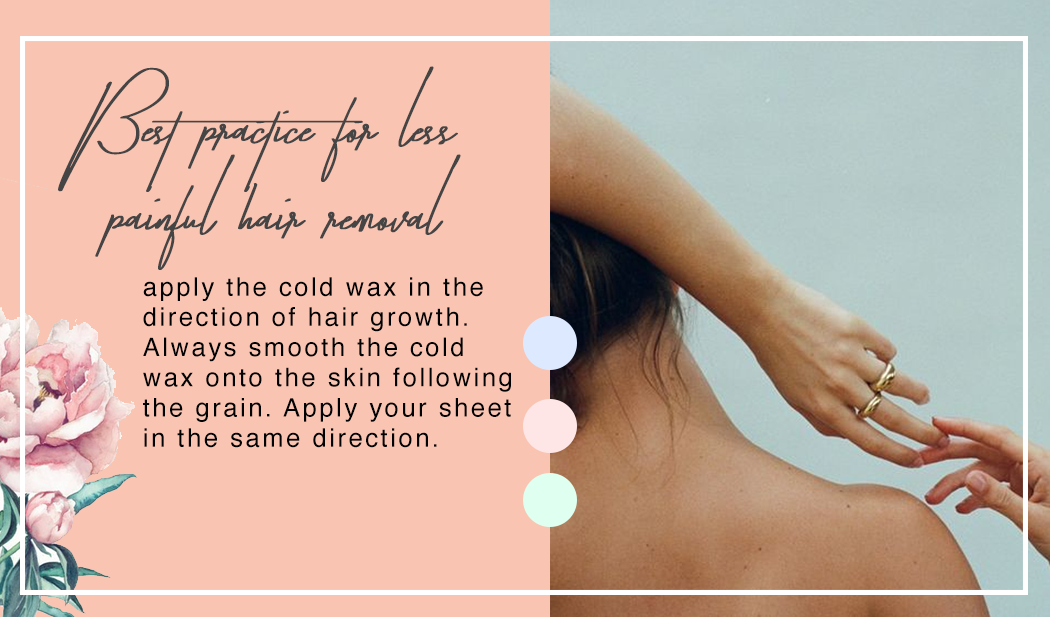 Best practice for less painful hair removal