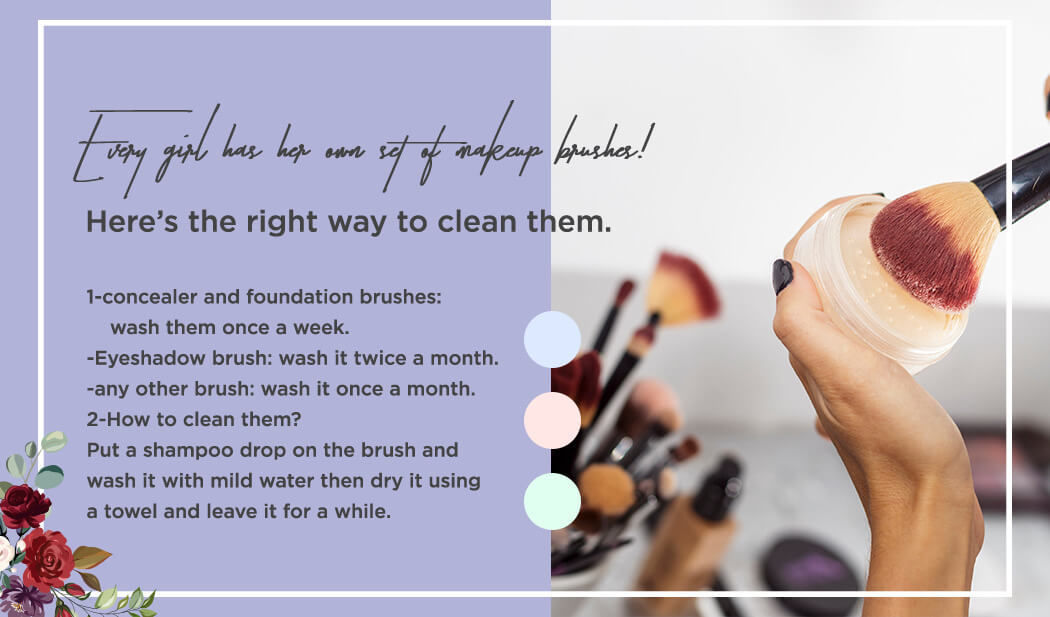 The right way to clean your makeup brushes!